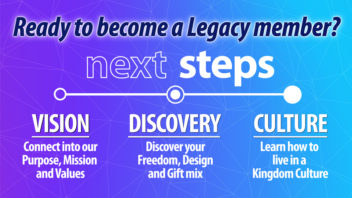 Legacy Church - Ready to Become a Member?